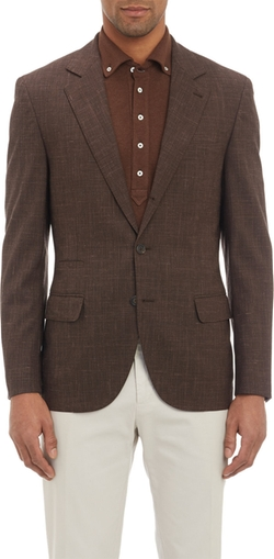 Brunello Cucinelli  - Lightweight Plaid Two-button Sportcoat