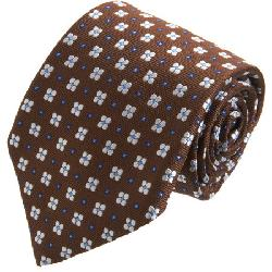 BARNEYS NEW YORK  - Florette Neat Print Tie