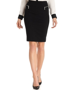 Michael Kors - Zipper-Pocket Pencil Skirt