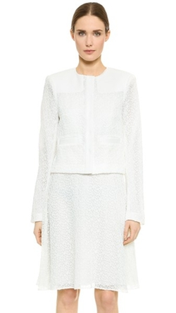 Jason Wu  - Lace Cropped Jacket