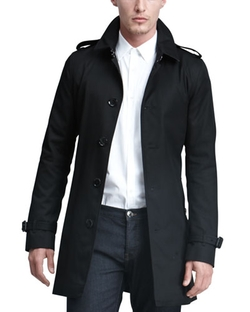 Burberry London - Single-Breasted Poly-Cotton Trenchcoat