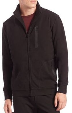 Saks Fifth Avenue Collection  - Raglan-Sleeve Full Zip Jacket