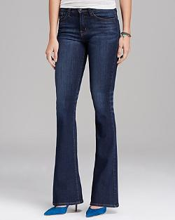 Flying Monkey Jeans - High Waist Flare in Dark Storm Blue
