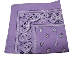 One Source Shop - Double Sided Print Paisley Bandana Scarf
