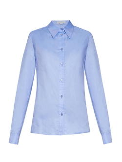 Stella Mccartney  - Scala Cotton Oxford Shirt