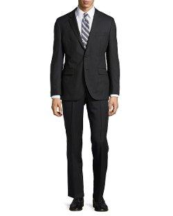 Hugo Boss - Tonal Stripe Two-Piece Suit