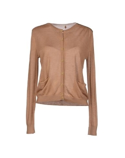 Soho De Luxe - Round Collar Cardigan Sweater
