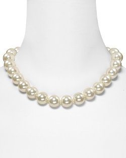 Ralph Lauren  - Glass Pearl Necklace