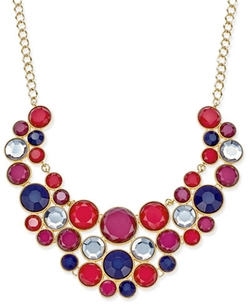 INC International Concepts  - Multi-Stone Statement Necklace