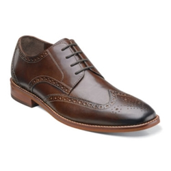 Florsheim - Montinaro Mens Leather Oxford Shoes