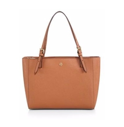Tory Burch - York Small Saffiano-Leather Tote