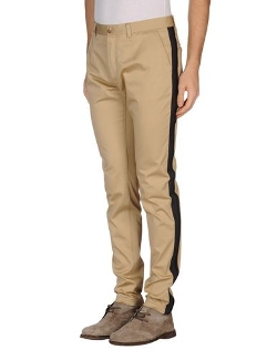 Dolce & Gabbana - Side Seam Stripes Casual Pants