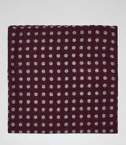 Reiss - Polka Dot Pocket Square