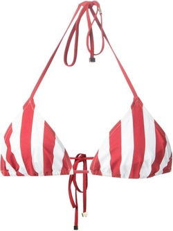 Dolce & Gabbana - Striped Triangle Bikini Top