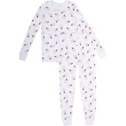 Skylar Luna  - Snowman Print Sleep Set