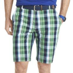Izod - Plaid Poplin Shorts