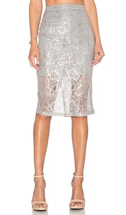 Bardot - Lace Midi Skirt