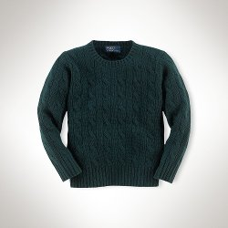 Ralph Lauren - Cabled Cashmere Sweater