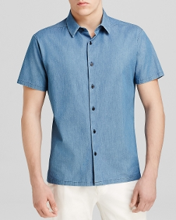 Theory - Custa Ashburton Button Down Shirt