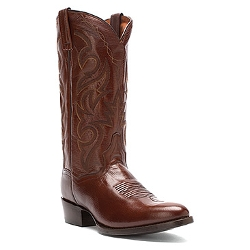Dan Post Milwaukee  - Antique Tan Mignon Leather Boots