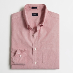J. Crew - Factory Slim Patterned Washed Shirt