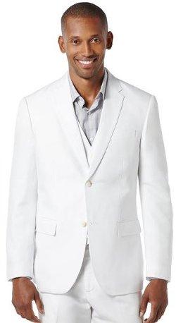 Perry Ellis - Linen Cotton Suit Jacket