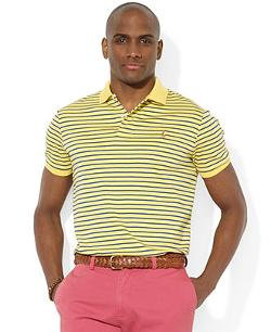 Polo Ralph Lauren  - Striped Pima Soft-Touch Polo Shirt