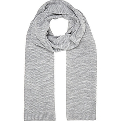 River Island - Grey Knitted Scarf
