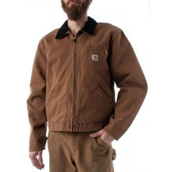 Carhartt - Mens Weathered Red Detroit Jacket