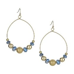 Target - Hoop Earrings with Beads