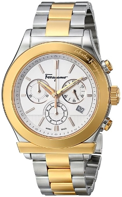 Salvatore Ferragamo  - SalvatoreStainless Steel Ion-Plated Watch