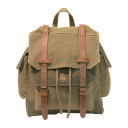 JC Penney - Two-Tone Canvas Backpack