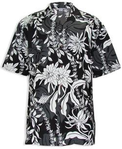 Hawaiian Aloha Fashions  - Tropical Island Leis Hawaiian Shirt