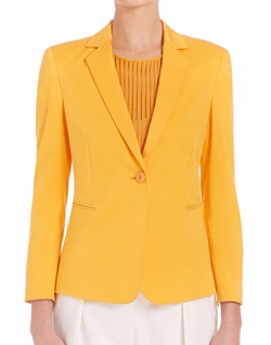 Akris Punto - Stretch-Cotton Blazer