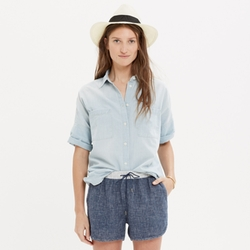 Madewell - Chambray Courier Shirt