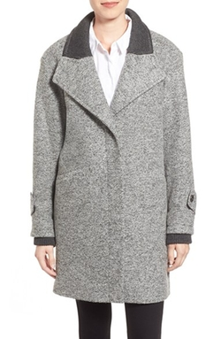 French Connection - Tweed Boyfriend Coat