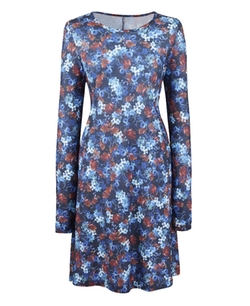 Simply Be - Floral Print Jersey Swing Dress