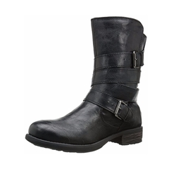 Rampage - Islet Motorcycle Buckle Boots