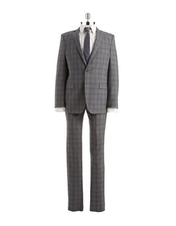 DKNY  - Two Piece Plaid Suit
