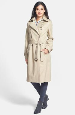 Pendleton  - Double Breasted Trench Coat with Detachable Liner