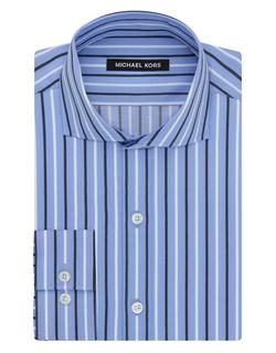 Michael Kors - Striped Nantucket Cutaway Dress Shirt