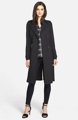 Trouvé - Belted Trench Coat
