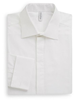 Horace Hugh  - French Cuff Dress Shirt