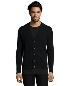 Harrison  - Cashmere V-Neck Button Front Cardigan