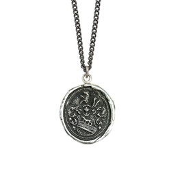 Pyrrha - Heart Of The Wolf Necklace