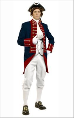 Heritage Costume - American Adult Revolutionary Uniform