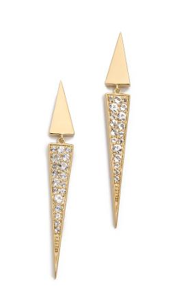 Elizabeth and James - Itten Pave Earrings