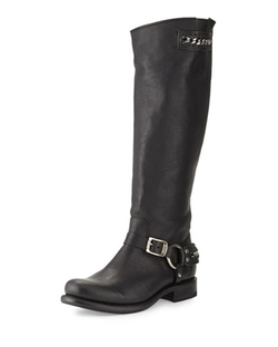 Frye - Jenna Chain Tall Leather Boots