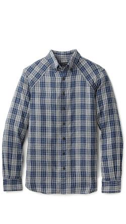 Wings + Horns  - Double Layer Plaid Shirt
