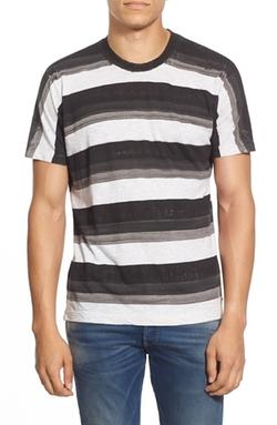 Diesel - Stripe Crewneck T-Shirt
